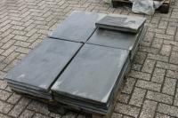 Betonplatten, schieferoptik