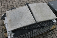 Betonplatten, glatte Oberfläche